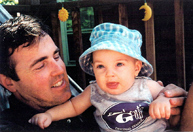 Dave Fontana and his son, Aidan